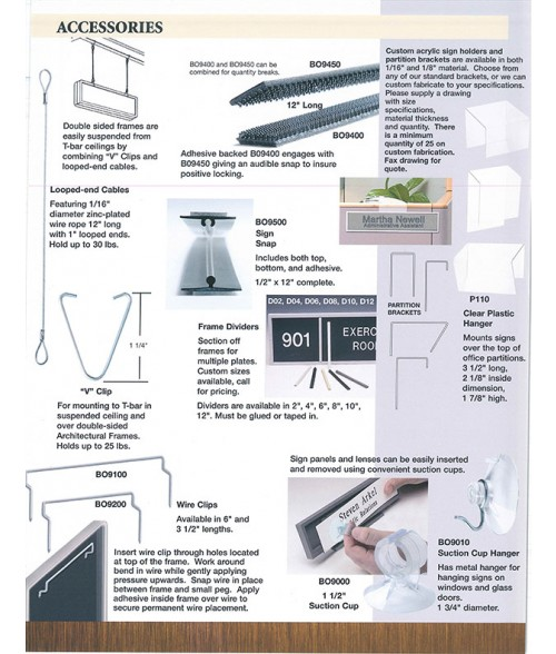 JRS Accessories Sales Brochure