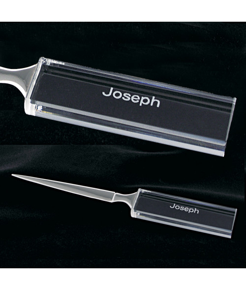 Crystal Executive Letter Opener