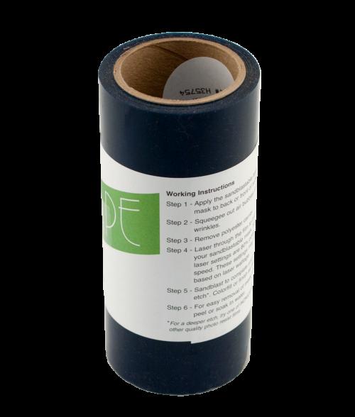 "LaserTape 6"" x 25' Laserable Stencil Tape for Sandblasting"