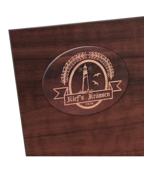 """Duro Laser Faux Ebony 1/8"""" Wood Sheet"""