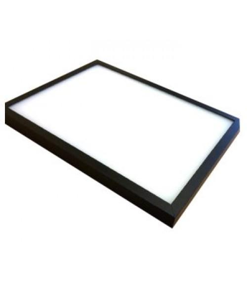 "Black 12"" x 24"" LED Light Box Frame"