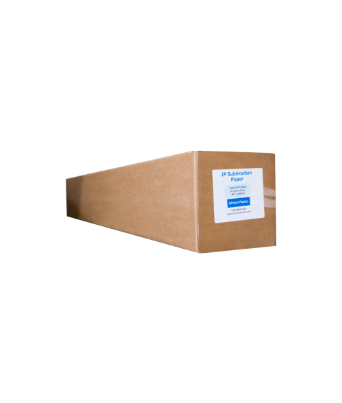 "Johnson Plastics Hybrid 44"" x 328' Sublimation Paper Roll"