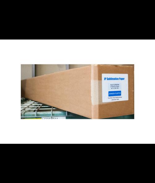 "Johnson Plastics Hybrid 54"" x 328' Sublimation Paper Roll"