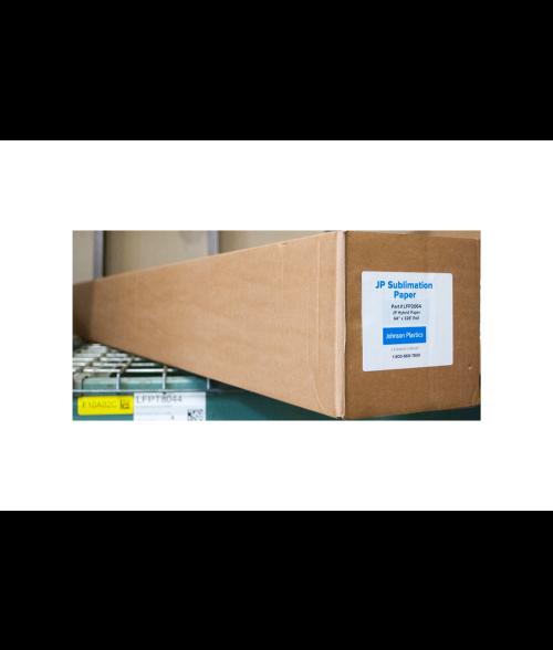 "Johnson Plastics Hybrid 64"" x 328' Sublimation Paper Roll"