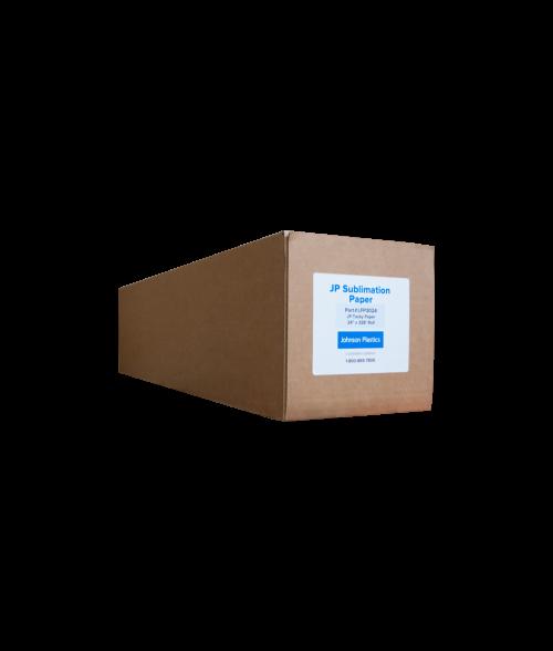 "Johnson Plastics Tacky 24"" x 328' Sublimation Paper Roll"