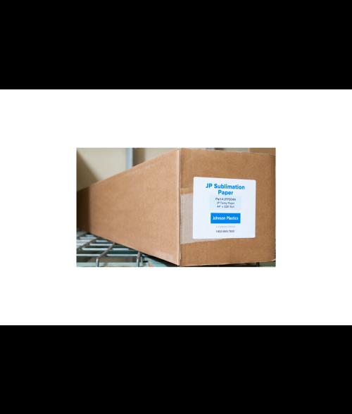 "Johnson Plastics Tacky 44"" x 328' Sublimation Paper Roll"