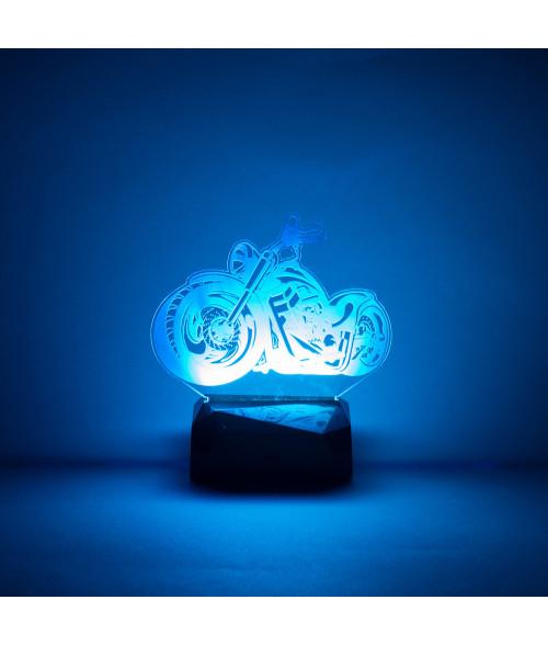 Acrylic LED Light Base with Wireless Remote
