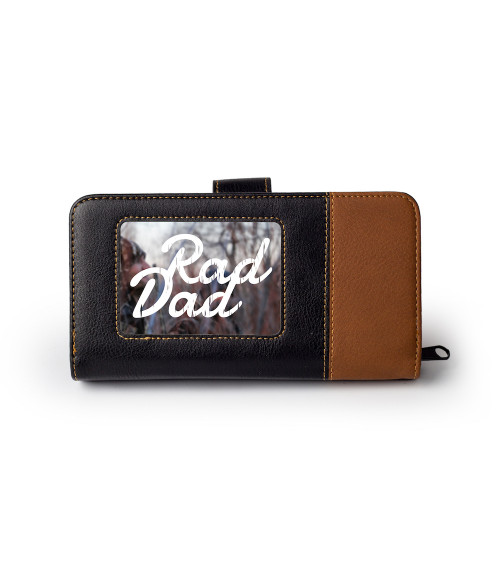 Large Leather Wallet with Insert