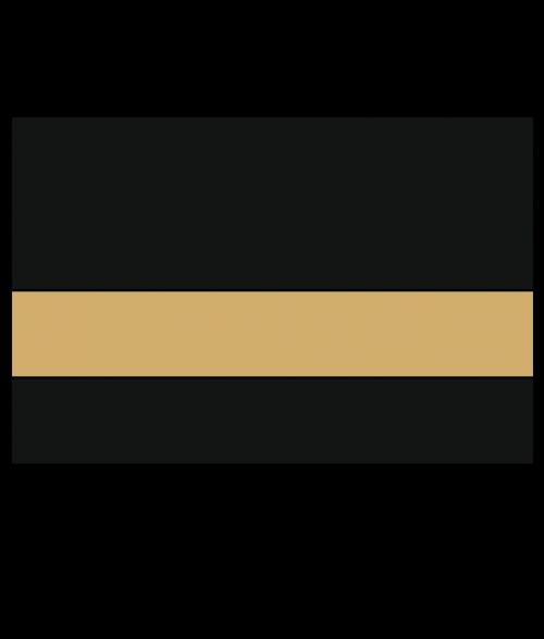 Rowmark LaserMag Black/Gold Magnetic Sheet