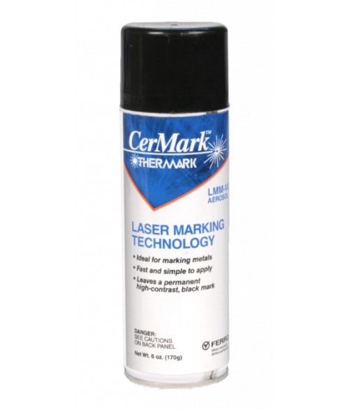 CerMark Thermark LMM14 6oz Metal Marking Spray