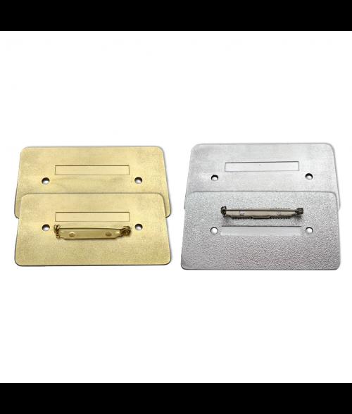 "Series 19 1-7/16"" x 2-3/4"" Aluminum Badge Frame"