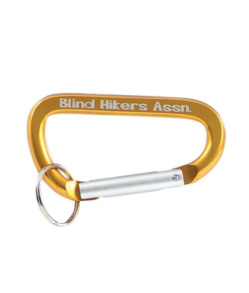 Orange Carabineer Key Ring