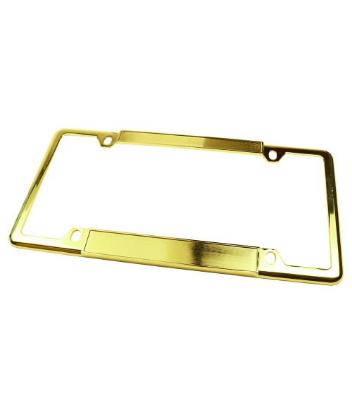 Gold License Plate Frame