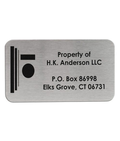 "2"" x 3-1/2"" Stainless Steel Plate"