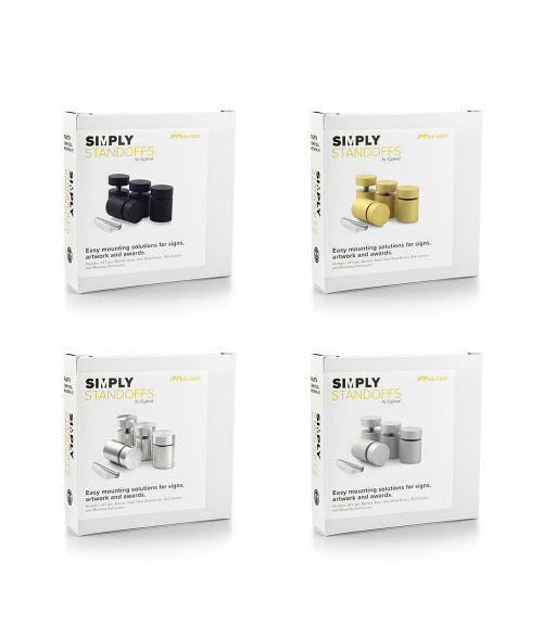 "Gyford Simply Standoffs 1"" Diameter/1"" Barrel Length Standoff Kit"