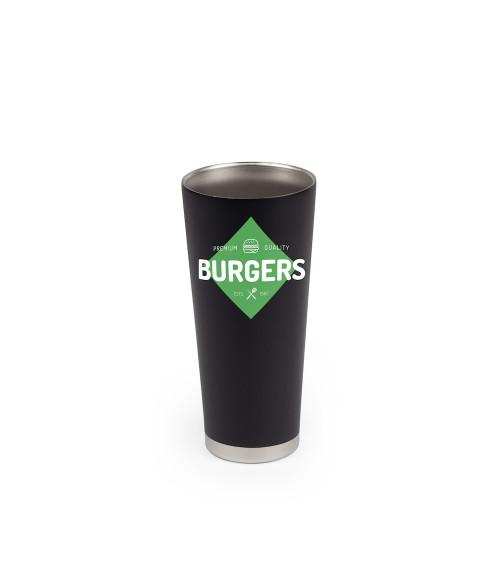 24 oz. Premium Matte Black Stainless Vacuum Insulated Tumbler