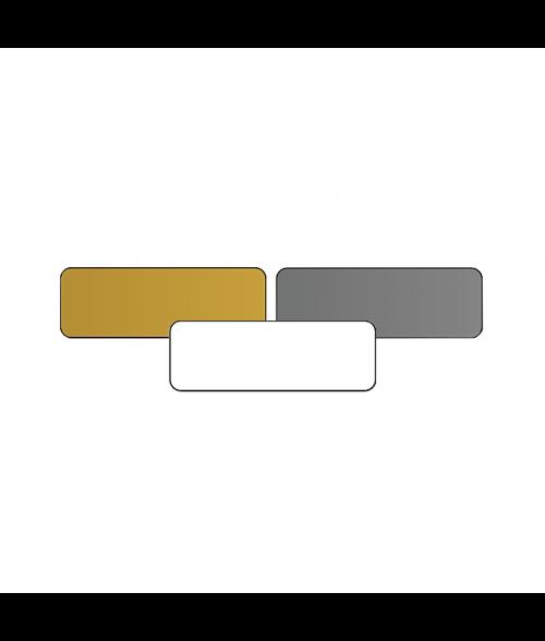 "1"" x 3"" Print Receptive Blank PVC Card"