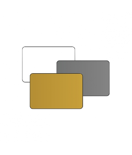 "2"" x 3"" Print Receptive Blank PVC Card"