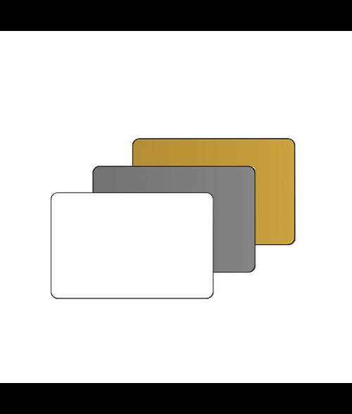"2.5"" X 3.7"" Print Receptive Blank PVC Card"