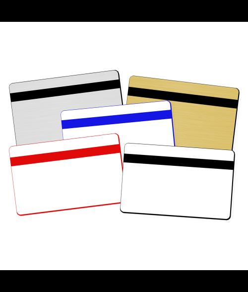 "PrintMark CR80 .060"" Print Receptive Blank Card"