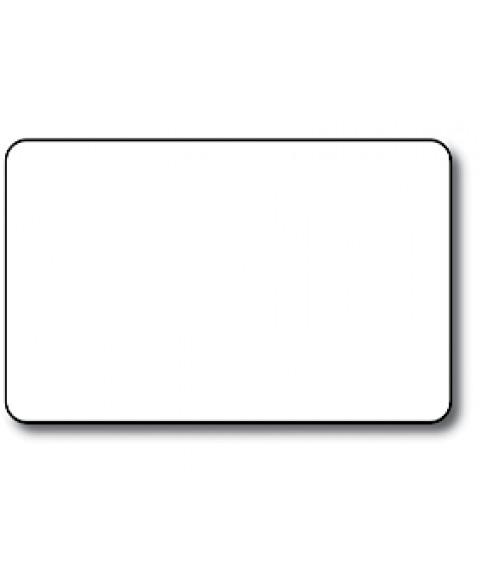 "Matte Polar White CR80 .060"" Print Receptive Blank Card"
