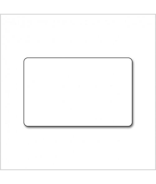 "White CR80 .030"" Print Receptive Blank PVC Card"