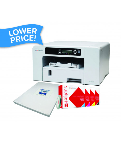 Sawgrass Virtuoso SG400 Desktop Sublimation Printer Package