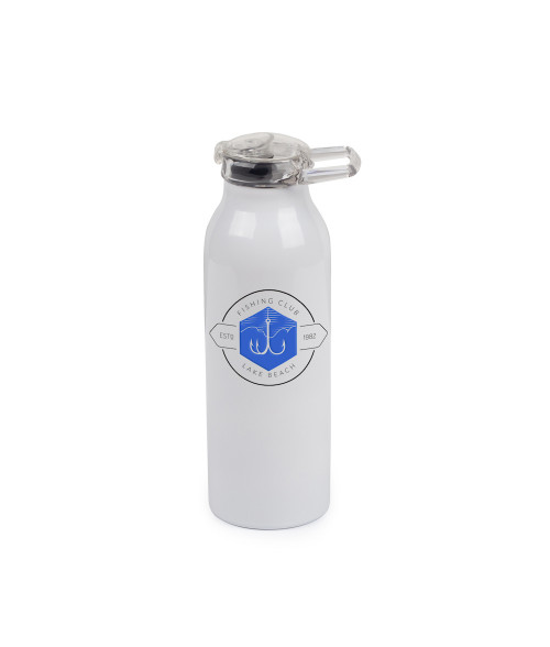 Premium 20oz White Stainless Insulated Bottle