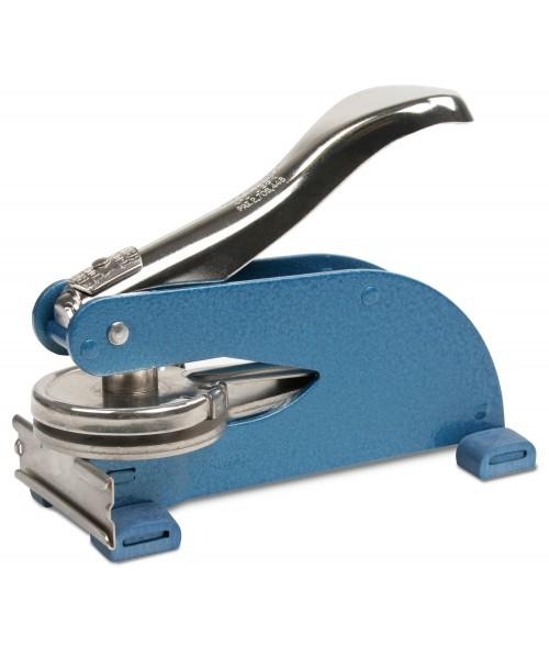 """Blue Official KO Desk Embosser (1-3/4"""" Diameter)"""