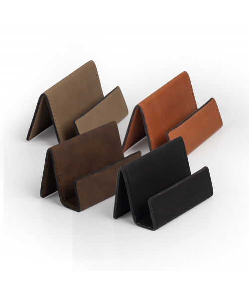 Saddle Collection Business Card Holder