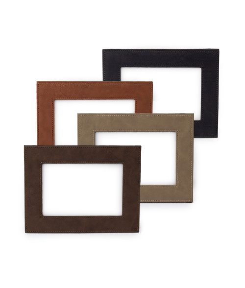 "Saddle Collection 4"" x 6"" Photo Frame"