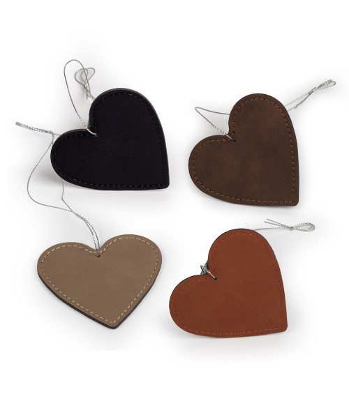Saddle Collection Heart Ornament