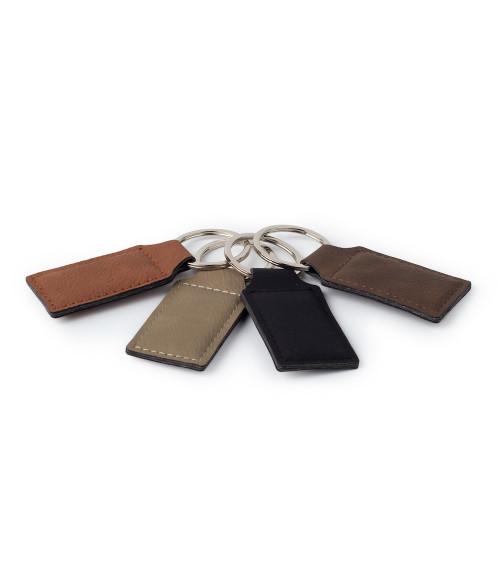 Saddle Collection Rectangular Keyring