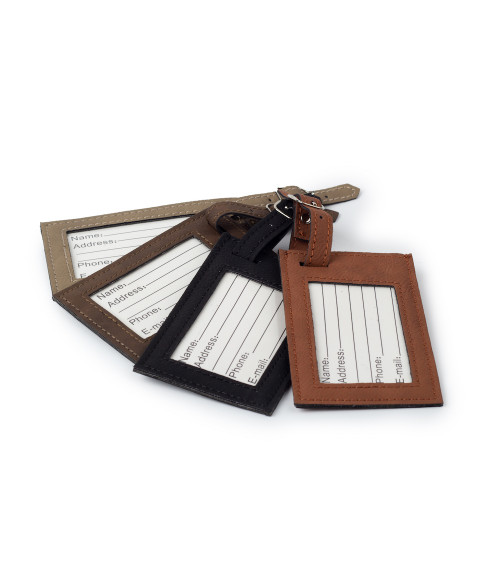 Saddle Collection Luggage Tag