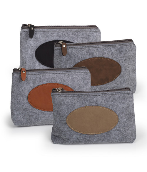 Saddle Collection Flannel Travel Bag