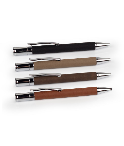 Saddle Collection Silver Stationary Pen