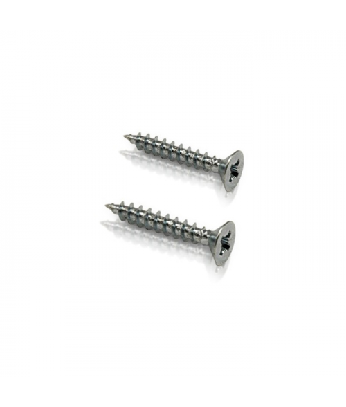"Stainless Steel 1-1/2"" Phillips Flat Head Screw"