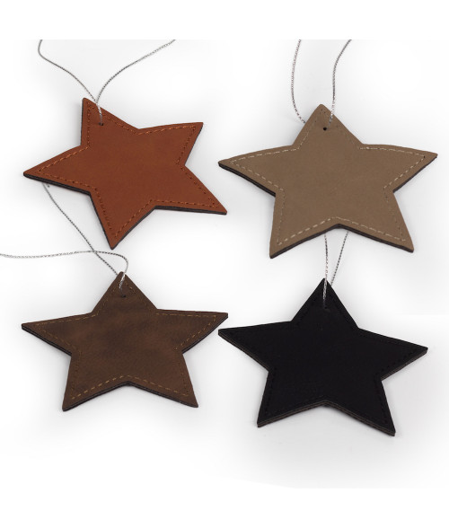 Saddle Collection Star Ornament