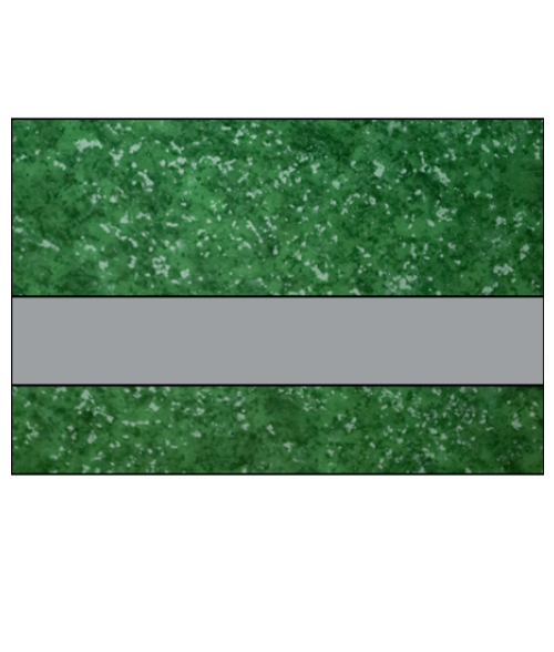 """IPI Architectural Stones Gloss Verde Green Marble/Pewter 1/16"""" Engraving Plastic"""