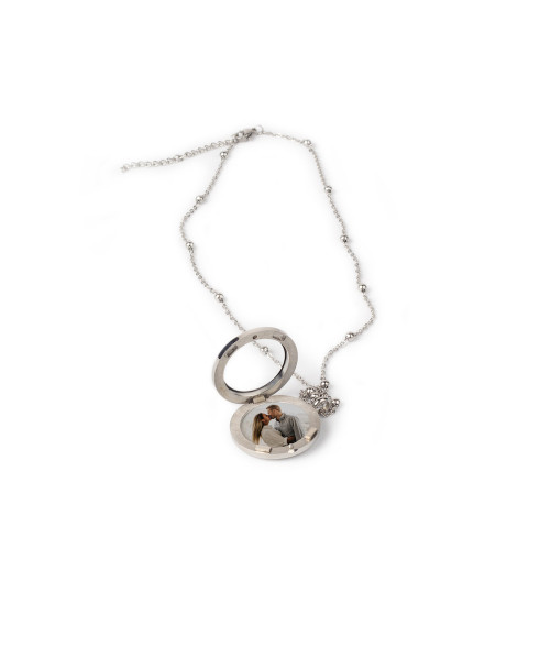 Stainless Locket Necklace