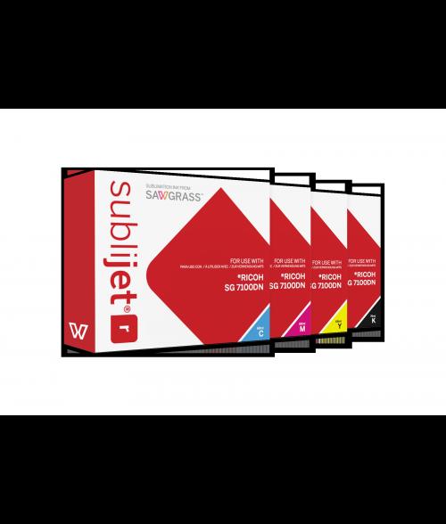 Sawgrass Sublijet-R 68ml / 60ml Ink Kit (Ricoh SG7100DN)