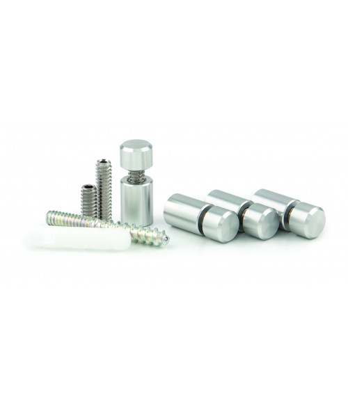 """Gyford Clear Anodized 3/8"""" Diameter Stand-Offs Kit"""