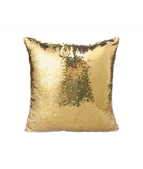 Gold/Silver Flip Sequin Pillow Cover