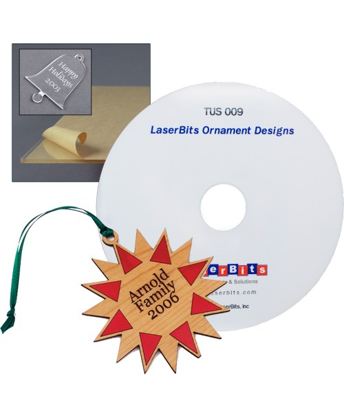 Acrylic Ornaments Kit with Designs CD