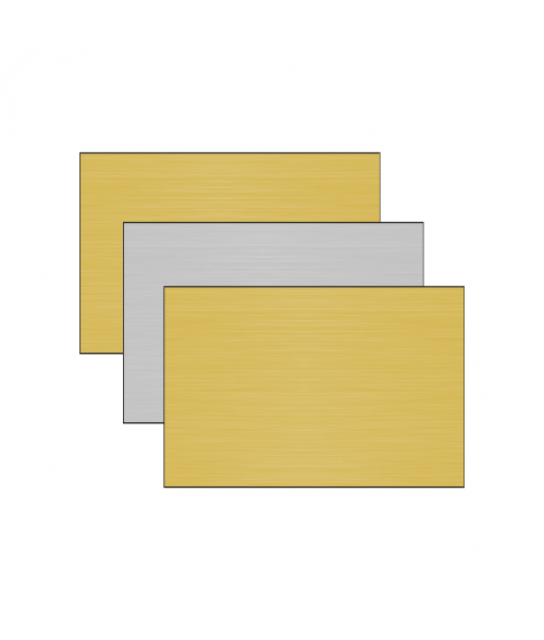 "12"" x 24"" 1-Sided Aluminum Sheet"