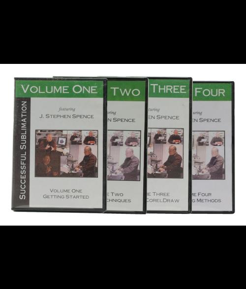 Successful Sublimation Set (Vol 1-4)