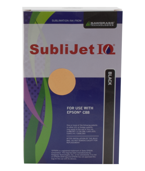 Sawgrass Sublijet-IQ Black Ink Cartridge (Epson C88|C86|C84)