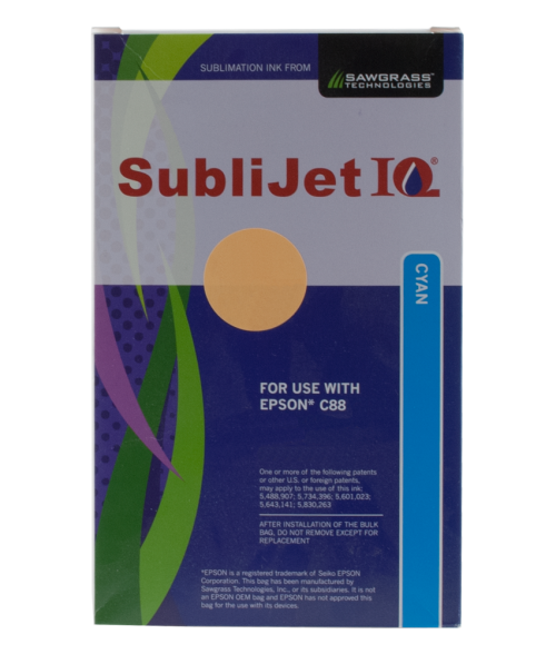 Sawgrass Sublijet-IQ Cyan Ink Cartridge (Epson C88)
