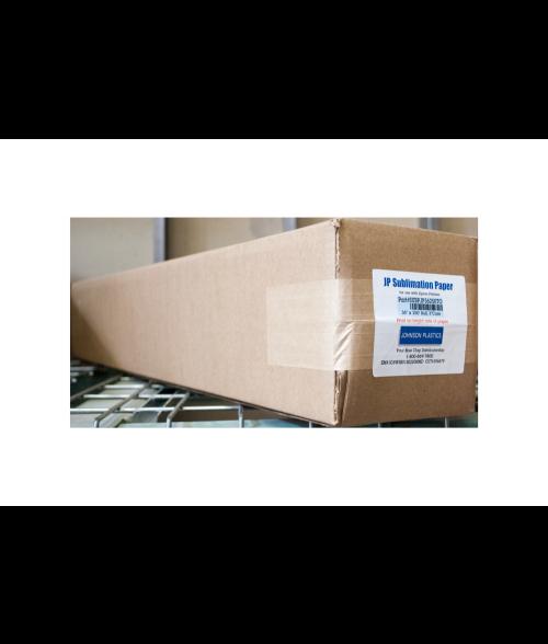 "Johnson Plastics 36"" x 250' Sublimation Paper Roll"