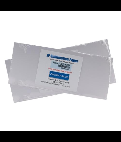 Johnson Plastics Sublimation Paper for Mugs (100 Sheets)